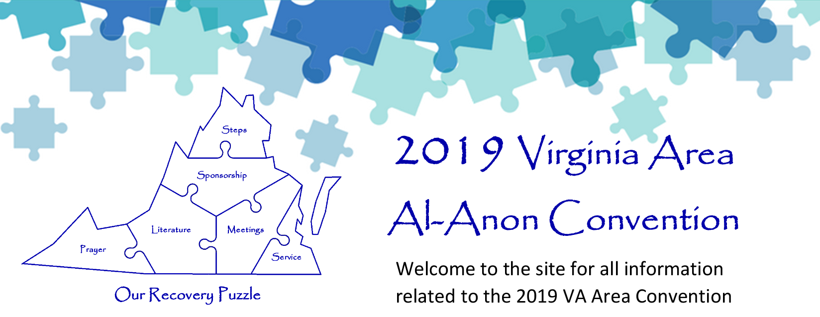 Welcome to the site for all information related to the 2019 VA Area Al-Anon